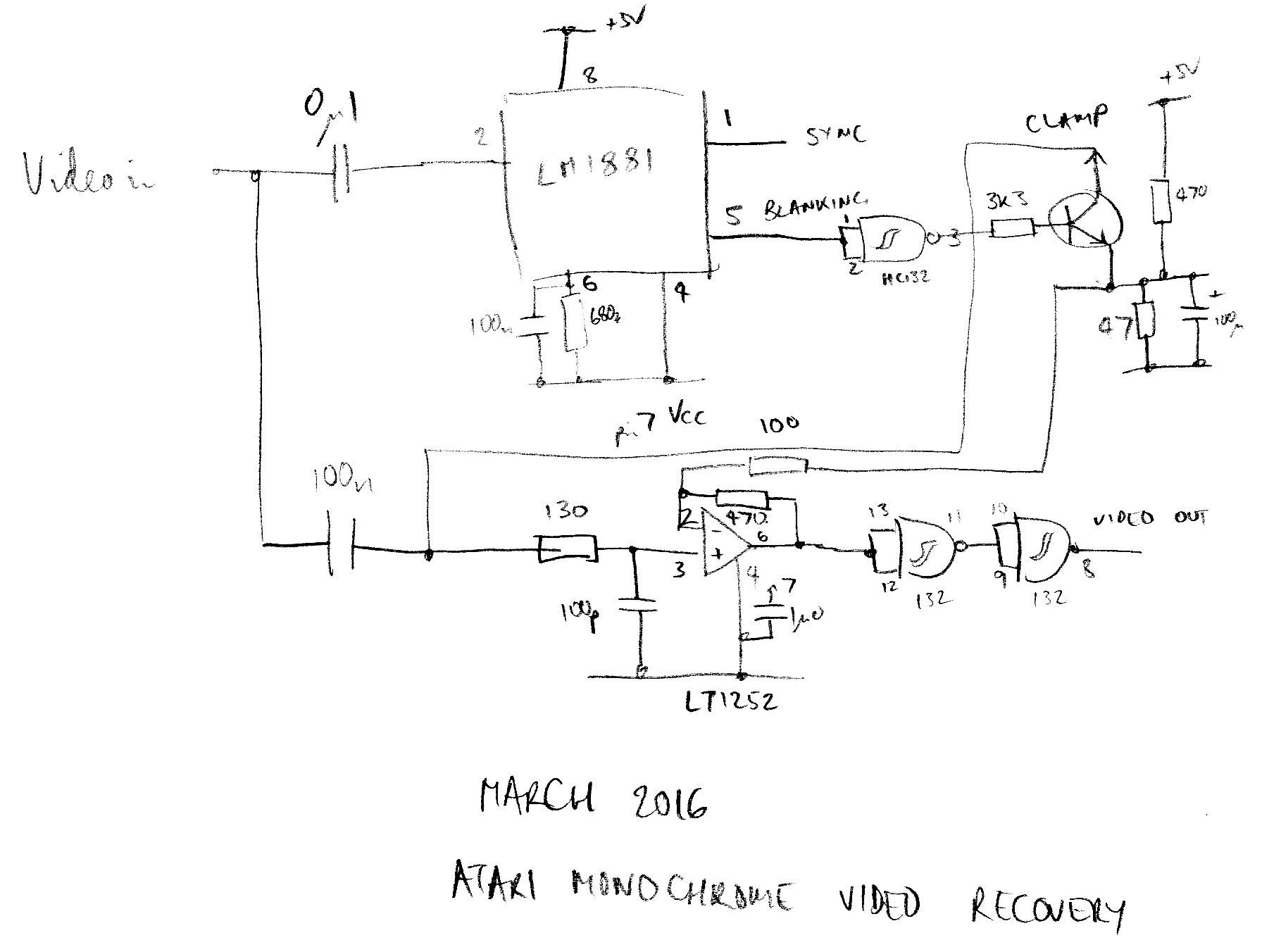 Atari Pole Position Wiring Diagram Schematic Electronic Arcade Martinjonestechnologyrhmartinjones At