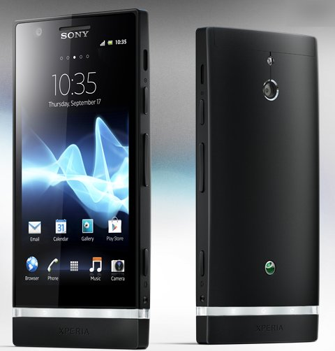 sony xperia p software update