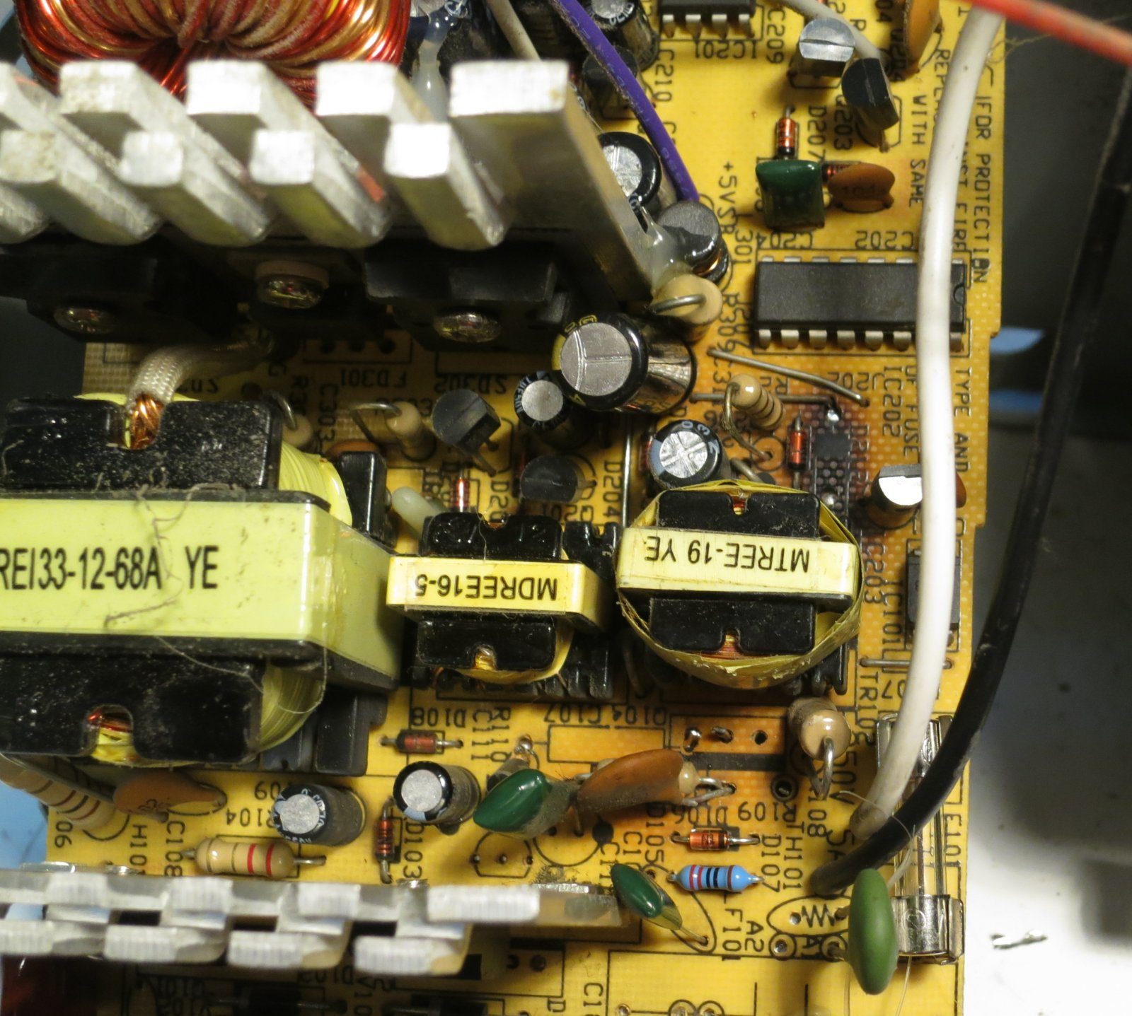 Repairing a PC power supply | martinjonestechnology