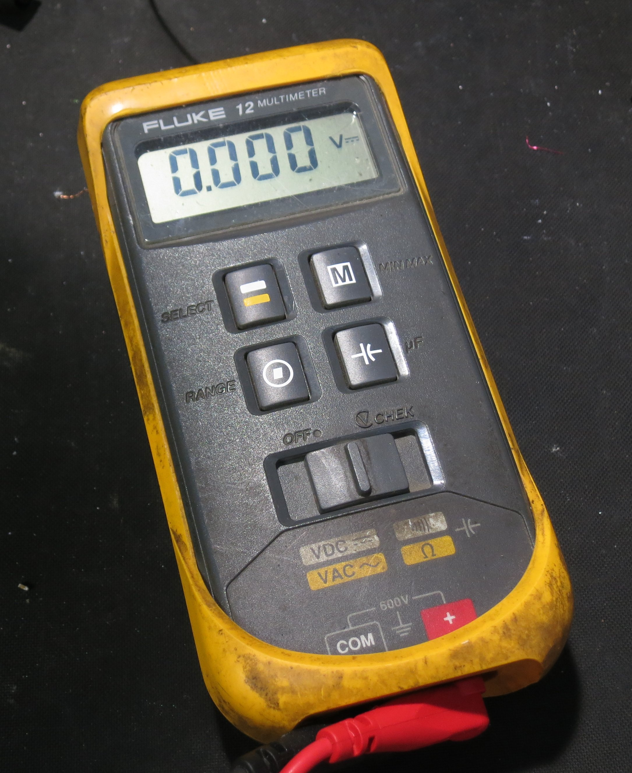 how to use a fluke 12 multimeter